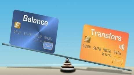 Balance transfer facility